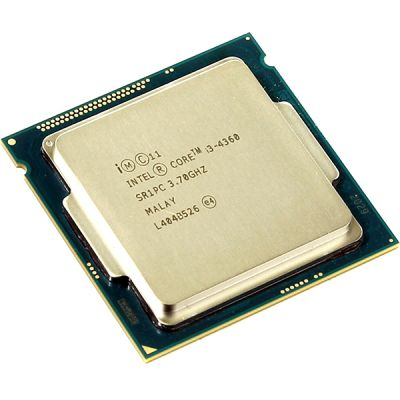 Процессор Intel Core i3 4360 Soc-1150 (3.7GHz/0.5Mb/Intel HD Graphics 4600) OEM CM8064601482461S R1PC