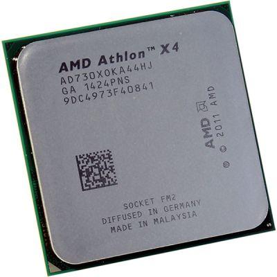 ��������� AMD Athlon X4 730 FM2 (2.8GHz) OEM AD730XOKA44HJ