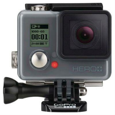 Экшн камера GoPro HERO+LCD серый CHDHB-101