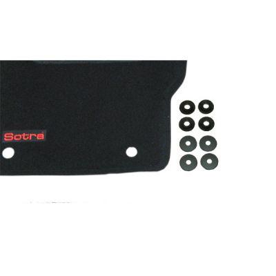 Sotra Коврики салона текст.Ford Focus C-Max LINER 3D Standart с бортиком черные (задние плоские) ST 76-00007