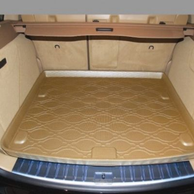 StarDiamond Коврик багажника Mitsubishi Pajero IV 2007-> коричневый TPR ST 68-00071