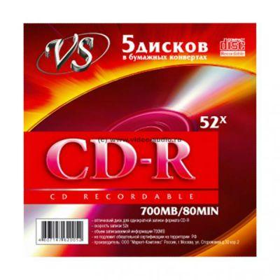 Диск VS CD-R VSCDRK501