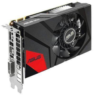 Видеокарта ASUS nVidia GeForce GTX 950 2048Mb 128bit GDDR5 1026/6610 DVIx1/HDMIx1/DPx1/HDCP Ret GTX950-M-2GD5