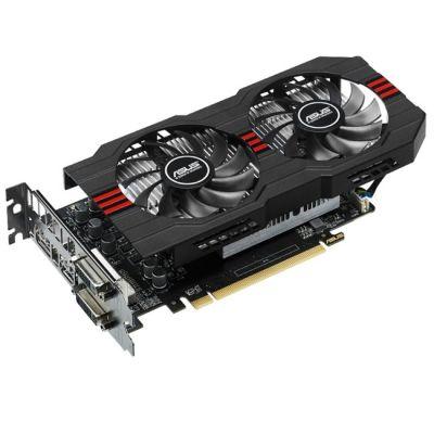 Видеокарта ASUS AMD Radeon R7 360 2048Mb 128bit GDDR5 1070/6500 DVIx2/HDMIx1/DPx1/HDCP Ret R7360-OC-2GD5