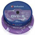 Диск Verbatim DVD+R 43500