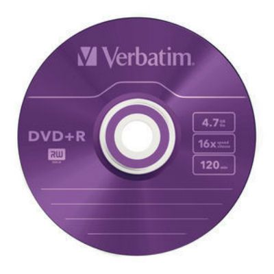Диск Verbatim DVD+R 43556