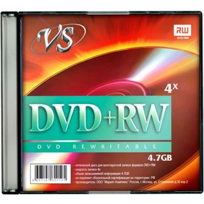 ���� VS DVD+RW VSDVDPRWSL501