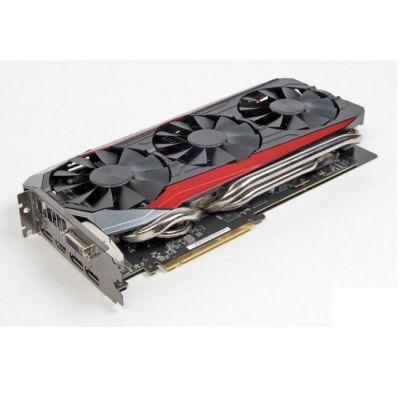 Видеокарта ASUS AMD Radeon R9 390 8192Mb 512bit GDDR5 1050/6000 DVIx1/HDMIx1/DPx3/HDCP Ret STRIX-R9390-DC3OC-8GD5-GAMING