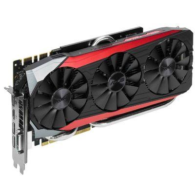 Видеокарта ASUS nVidia GeForce GTX 980TI 6144Mb 384bit GDDR5 1000/7010 DVIx1/HDMIx1/DPx3/HDCP Ret STRIX-GTX980TI-DC3-6GD5 GAMING
