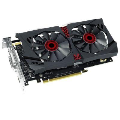 Видеокарта ASUS nVidia GeForce GTX 950 2048Mb 128bit GDDR5 1165/6610 DVIx2/HDMIx1/DPx1/HDCP Ret STRIX-GTX950-DC2OC-2GD5-GAMING