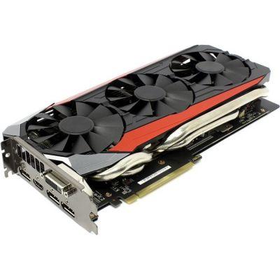 Видеокарта ASUS AMD Radeon R9 FURY 4096Mb 4096bit HBM 1020/1000 DVIx1/HDMIx1/DPx3/HDCP Ret STRIX-R9FURY-DC3-4G-GAMING