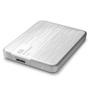 """Внешний жесткий диск Western Digital Original USB 3.0 2Tb My Passport Ultra (5400 об/мин) 2.5"""" белый WDBNFV0020BWT-EEUE"""