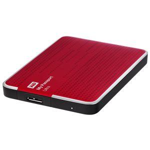 """Внешний жесткий диск Western Digital Original USB 3.0 2Tb My Passport Ultra (5400 об/мин) 2.5"""" красный WDBNFV0020BBY-EEUE"""
