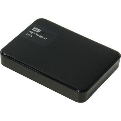 """Внешний жесткий диск Western Digital Original USB 3.0 2Tb My Passport Ultra (5400 об/мин) 2.5"""" черный WDBNFV0020BBK-EEUE"""