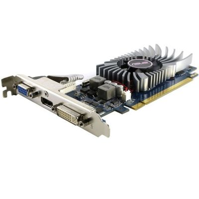 Видеокарта ASUS PCI-E nVidia GeForce GT 610 1024Mb 64bit DDR3 810/1200 DVIx1/HDMIx1/CRTx1/HDCP Ret GT610-1GD3-L