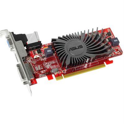 Видеокарта ASUS PCI-E AMD Radeon HD 5450 2048Mb 64bit DDR3 650/900 DVIx1/HDMIx1/CRTx1/HDCP Ret HD5450-SL-2GD3-L
