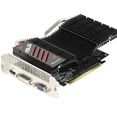 Видеокарта ASUS Видеокарта Asus PCI-E GT740-DCSL-2GD3 nVidia GeForce GT 740 2048Mb 128bit DDR3 993/1782 DVIx1/HDMIx1/CRTx1/HDCP Ret GT740-DCSL-2GD3