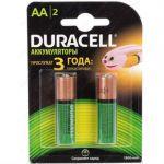 ��������� Duracell ����������� 1300mAh AA 2 ��. HR6-2BL