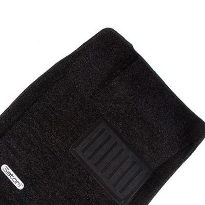 Satori Коврики салона текст.Honda Civic 4D Sed 2012-> Satori с бортиком черные SI 02-00240