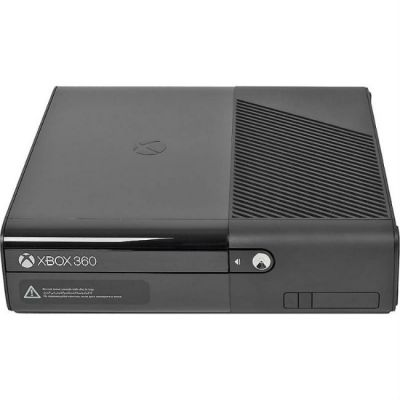 Игровая приставка Microsoft Xbox 360 E N7V-00088 черный в комплекте: 3 игры: Kinect Sports, Forza Horizon, Kinect Adventures