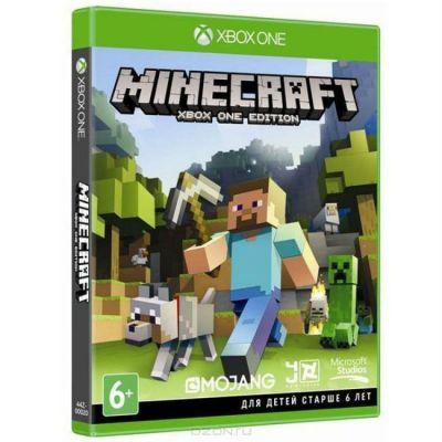 Игра для Xbox One Microsoft Minecraft (6+) 44Z-00020