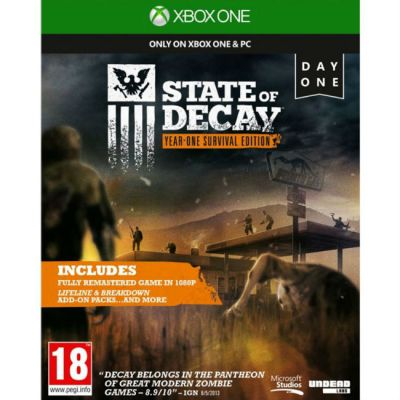 Игра для Xbox One Microsoft State Of Decay (18+) 4XZ-00020