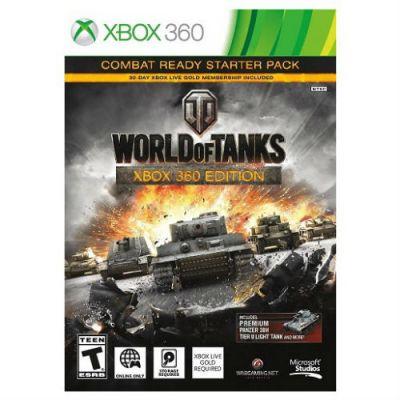 ���� ��� Xbox 360 Microsoft World of Tanks (RUS) 4ZP-00018