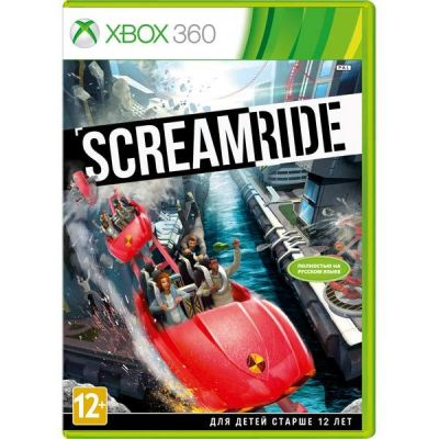 ���� ��� Xbox 360 Microsoft Scream Ride (12+) (RUS) D9Y-00019