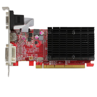 Видеокарта PowerColor PCI-E AXR5 230 1GBK3-HE AMD Radeon R5 230 1024Mb 64bit DDR3 625/1334 DVIx1/HDMIx1/CRTx1/HDCP oem AXR5 230 1GBK3-HE BULK