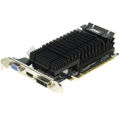 ���������� MSI PCI-E N610-1GD3H/LPV1 nVidia GeForce GT 610 1024Mb 64bit DDR3 810/1000 DVIx1/HDMIx1/CRTx1/HDCP Ret N610-1GD3H/LPV1