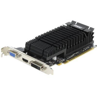 Видеокарта MSI PCI-E N610-2GD3H/LP nVidia GeForce GT 610 2048Mb 64bit DDR3 810/1334 DVIx1/HDMIx1/CRTx1/HDCP Ret N610-2GD3H/LP