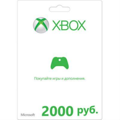 Microsoft ����� ������ Branded Xbox Gift Card 2000 rub CoD:Advanced Warfare K4W-02848