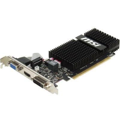 Видеокарта MSI PCI-E N720-2GD3HLP nVidia GeForce GT 720 2048Mb 64bit DDR3 797/1600 DVIx1/HDMIx1/CRTx1/HDCP Ret N720-2GD3HLP