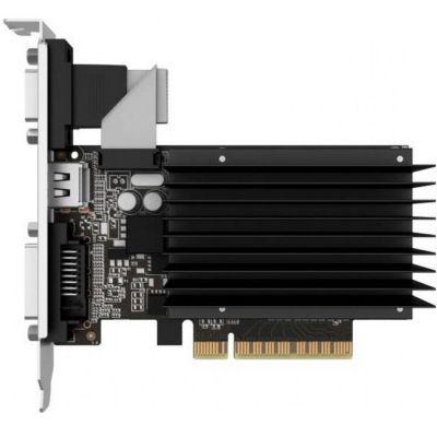 ���������� Palit PCI-E PA-GT730K-2GD3H nVidia GeForce GT 730 2048Mb 64bit DDR3 800/1804 DVIx1/HDMIx1/CRTx1/HDCP oem NEAT7300HD46-2080H BULK