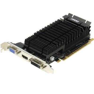 Видеокарта MSI PCI-E N720-2GD5HLP nVidia GeForce GT 720 2048Mb 64bit GDDR5 797/5000 DVIx1/HDMIx1/CRTx1/HDCP Ret N720-2GD5HLP