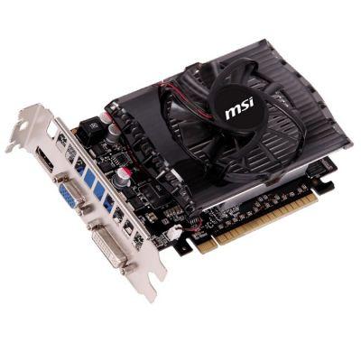 ���������� MSI PCI-E N730-4GD3 nVidia GeForce GT 730 4096Mb 128bit DDR3 750/1000 DVIx1/HDMIx1/CRTx1/HDCP Ret N730-4GD3