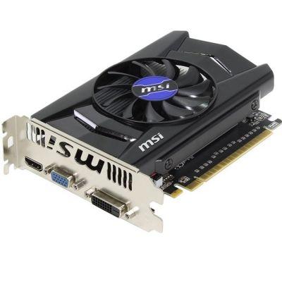 Видеокарта MSI PCI-E N750Ti-2GD5/OCV1 nVidia GeForce GTX 750Ti 2048Mb 128bit GDDR5 1059/5400 DVIx1/HDMIx1/CRTx1/HDCP Ret N750TI-2GD5/OCV1