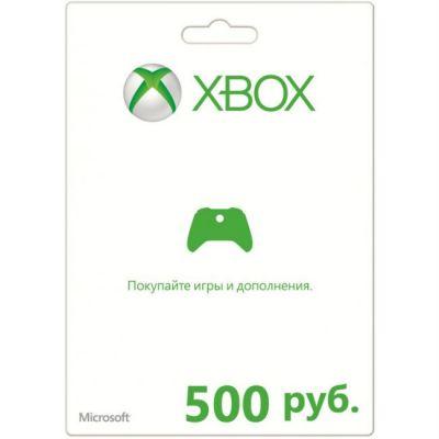 Microsoft ����� ������ ��� ���� Xbox LIVE 500 ������ K4W-00118