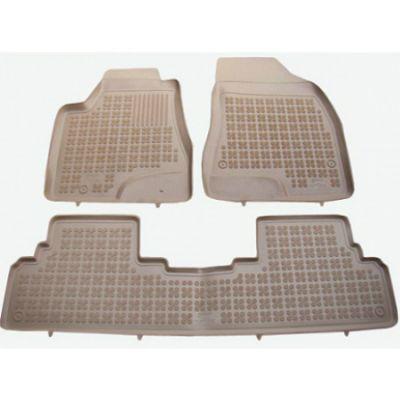 Rezaw-Plast Коврики салона Lexus RX III 2009-2012 с бортиками полиуретановые (3 части) БЕЖЕВЫЕ ST 49-00287