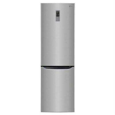 Холодильник LG GW-B489SMQW серебристый
