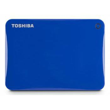 "Жесткий диск Toshiba USB 3.0 1Tb CANVIO Connect II 2.5"" синий HDTC810EL3AA"