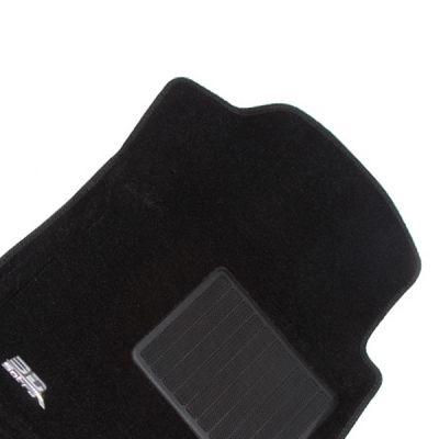 Sotra Коврики салона текст.Nissan Tiida 2012-> (С12) LINER 3D Lux с бортиком черные ST 74-00507