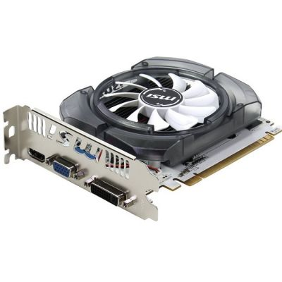 Видеокарта MSI PCI-E N730-2GD3V2 nVidia GeForce GT 730 2048Mb 128bit DDR3 700/1800 DVIx1/HDMIx1/CRTx1/HDCP Ret N730-2GD3V2