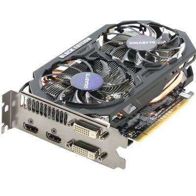 ���������� Gigabyte PCI-E GV-N75TWF2BK-2GI nVidia GeForce GTX 750Ti 2048Mb 128bit GDDR5 1163/5400 DVIx1/HDMIx2/HDCP Ret GV-N75TWF2BK-2GI