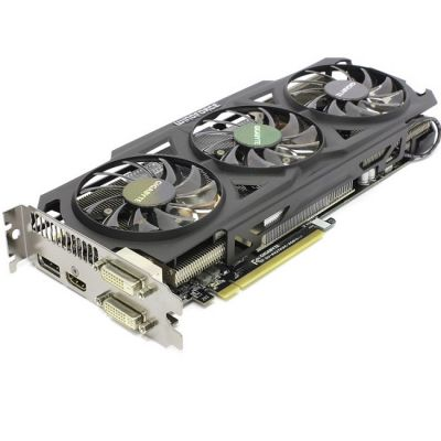 Видеокарта Gigabyte PCI-E GV-R927XOC-2GD AMD Radeon R9 270X 2048Mb 256bit GDDR5 1050/5600 DVIx1/HDMIx1/DPx1 Ret GV-R927XOC-2GD