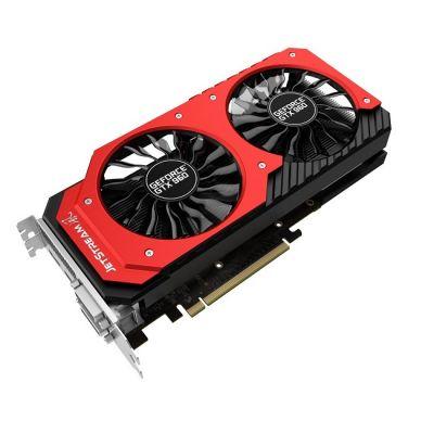 ���������� Palit PCI-E PA-GTX960 JETSTREAM 2G nVidia GeForce GTX 960 2048Mb 128bit GDDR5 1203/7200 DVIx2/HDMIx1/DPx1/HDCP Ret NE5X960H1041-2060J