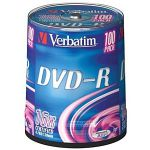 Verbatim ���� DVD-R 4,7Gb 16x Cake Box (100��) 43549