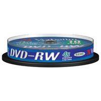Диск Verbatim DVD-RW 4.7Gb 4x Cake Box (10шт) (43552)