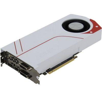Видеокарта ASUS PCI-E TURBO-GTX970-OC-4GD5 nVidia GeForce GTX 970 4096Mb 256bit GDDR5 1088/7010 DVIx2/HDMIx1/DPx1/HDCP Ret TURBO-GTX970-OC-4GD5