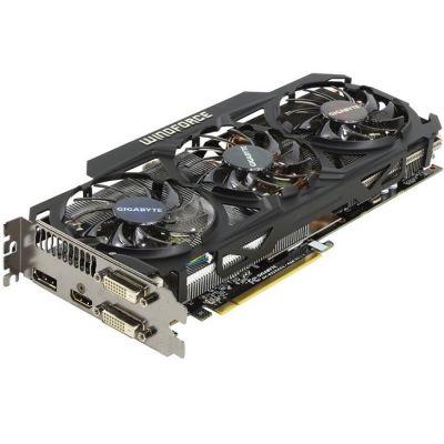 Видеокарта Gigabyte PCI-E AMD Radeon R9 290X 4096Mb 512bit GDDR5 1040/5000 DVIx2/HDMIx1/DPx1/HDCP Ret GV-R929XOC-4GD